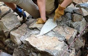 عملیات بنایی با سنگ