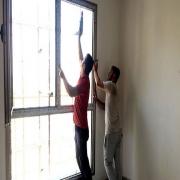 متره - برش و نصب شیشه