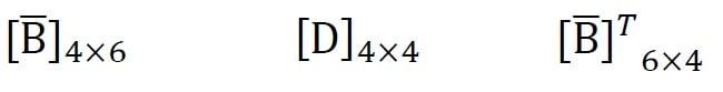 مقایسه بین مرتبه ماتریس های تنش صفحه ای و تقارن محوری 1