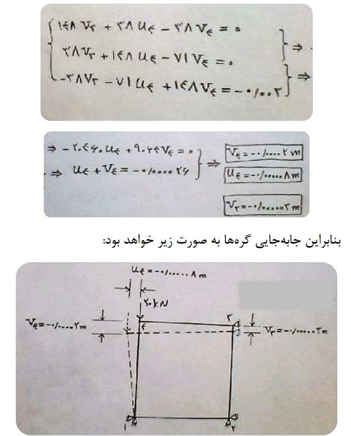 معادله ی ساده شده 1