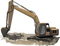 خاکبرداری با ماشین در متره و برآورد